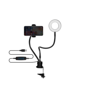 Volkano Insta Series Ring Light With Desk Clamp