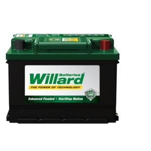Willard 630 Battery SMF 280 SAE CCA 50AH