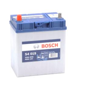 S4 019 Bosch Car Battery 12V 40Ah Type 055