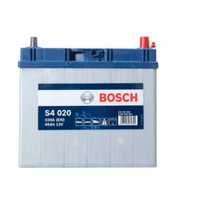 S4 020 Bosch Car Battery 12V 45Ah Type 044