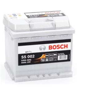 S5 002 Bosch Car Battery 12V 54Ah Type 012